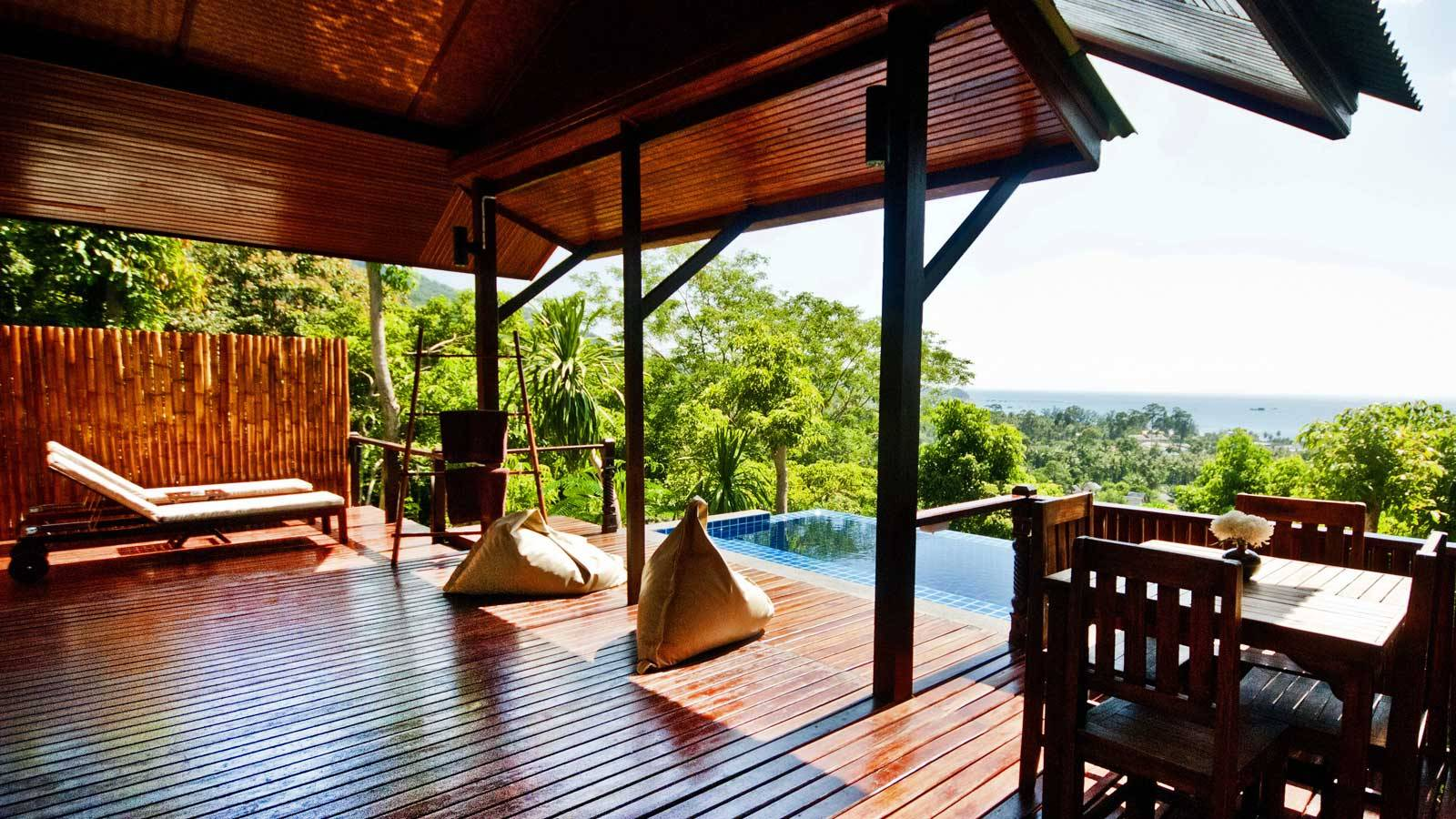 About us luxury boutique pool villas the place koh tao for Boutique luxury
